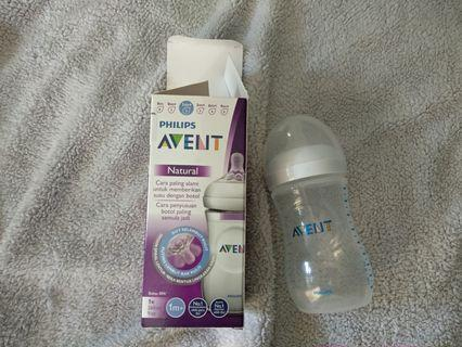 [Baru 1x Pake] Botol Susu Philips Avent Natural
