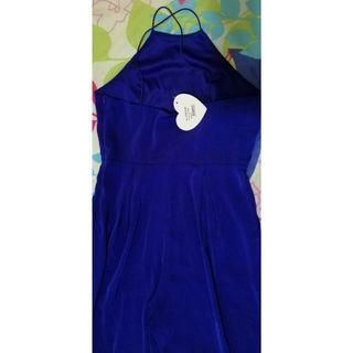 Love Bonito Royal Blue Jumpsuit