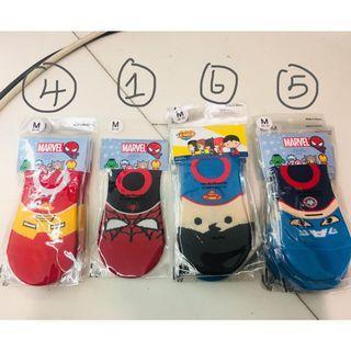 韓國 男童 男嬰 超人 蜘蛛俠 兒童襪 襪 16對 Spider Man Super Man sock