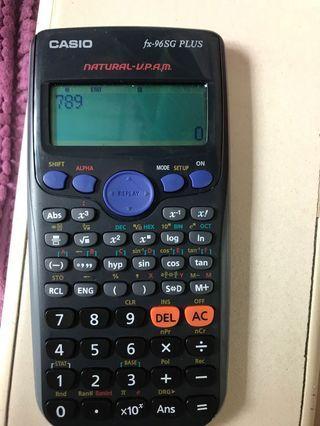 Casio Scientific Calculator fx-96SG plus