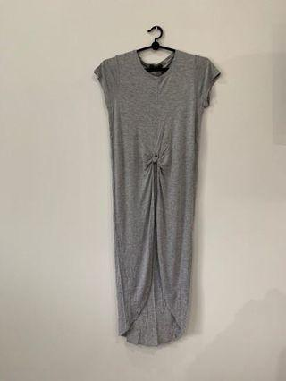 Grey Maxi Top/Dress