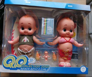 "Kewpie Beach Boys & Girls 2002 丘比沙律6""著衫公仔"