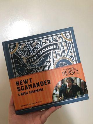 Newt Scamander (Fantastic Beast Movie Scrapbook)