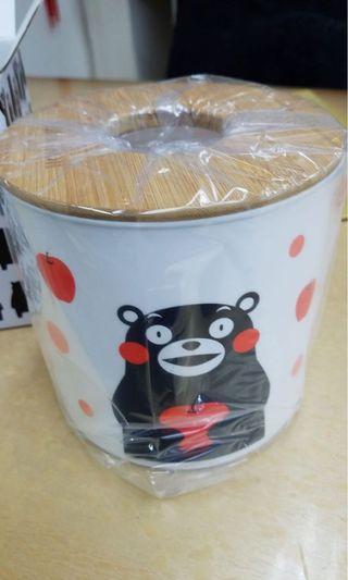 Kumamon 熊本熊紙巾套