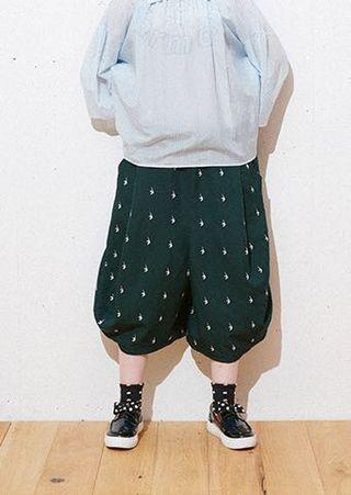 Frapbois 深藍中長褲 0