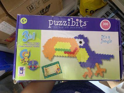 Puzzibits flexible 3D arts 3d塗鴉玩具學習