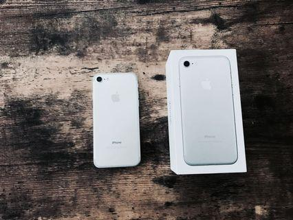 IPHONE 7 32GB SILVER OFFICIAL