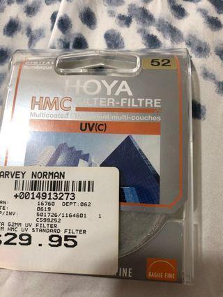 Hoya hmc uvc multicoated filter 52mm orig