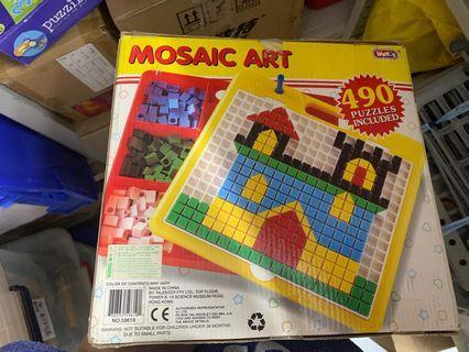 Mosaic arts games 馬賽克藝術模型拼圖學習