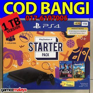 [NEW] PS4 SLIM 1TB STARTER PACK FIFA 19 + OVERCOOKED 2 - (GAMEZMALAYA)