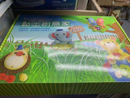台灣黏土創意家手作玩具