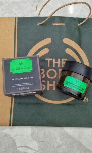#sociollacarousel The body shop japanese matcha tea deep cleansing mask