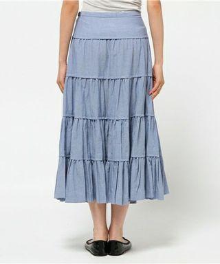 Ne-net long skirt