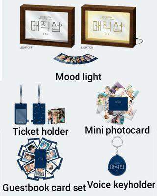 BTS 5TH MUSTER MAGIC SHOP MERCHANDISE