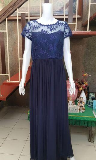 Navy Blue Gown Large to XL