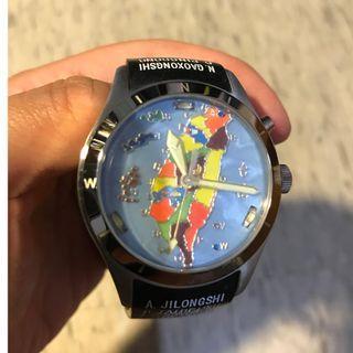 台灣地圖手錶