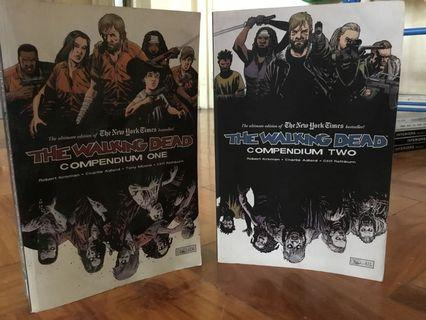 Walking Dead Compendiums 1 and 2 (set only)