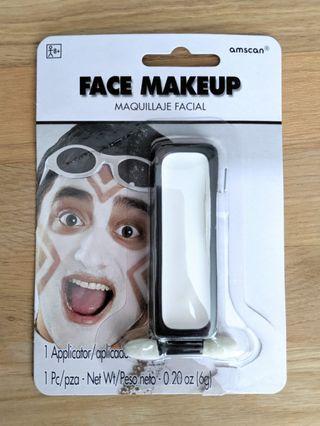 White face paint / makeup