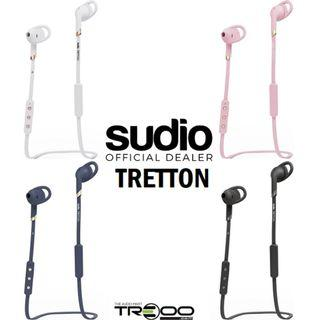 Sudio Tretton Wireless Bluetooth On-Ear Earbud with Microphone