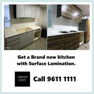 Kitchen Makeover-No Hacking Required