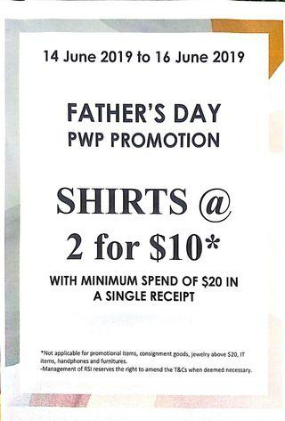 Father's Day PWP Promotion