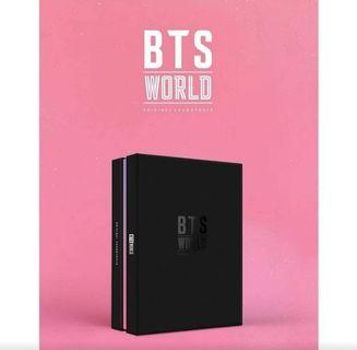BTS WORLD ALBUM SEALED FULL SET