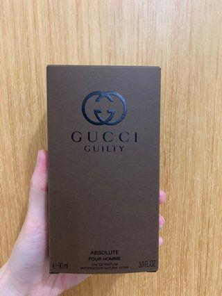 Gucci Men Guilty Absolute 香水