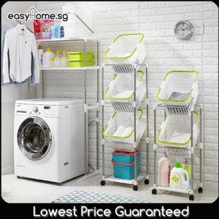🚚 CSL2 / CSL3 Laundry Basket - Dirty Clothes Rack Holder Hamper
