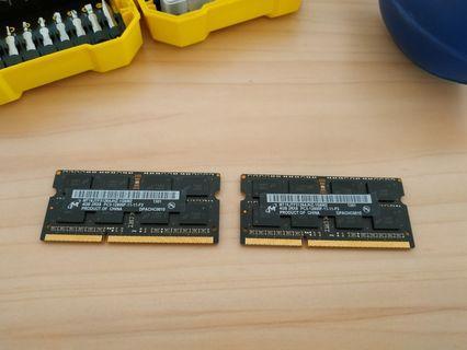 RAM DDR3 8GB ORI IMAC Copotan 2012