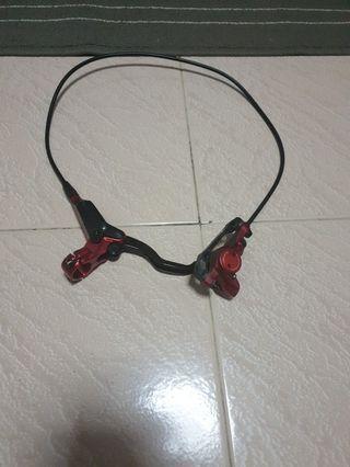Zoom hydraulics brake