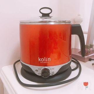 歌林 1.5L隔熱不鏽鋼美食鍋 燉鍋 多功能鍋 KPA-MNR151