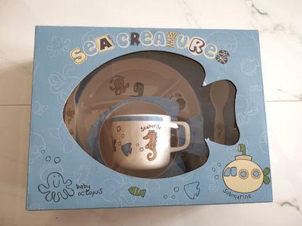 🚚 Sea Creatures Children Dinner Set (5 pcs)