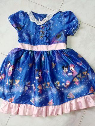 Disney 12週年 正版裙 M碼