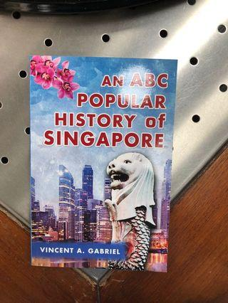 🚚 An ABC Popular History of Singapore byVincent A Gabriel