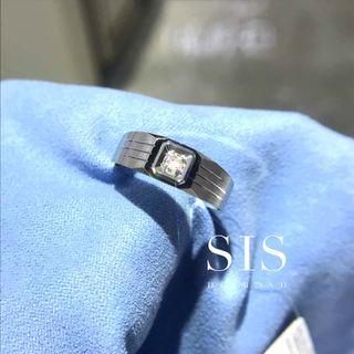 SIS Diamond 男戒 父親節禮物 對戒 18K 鑽石