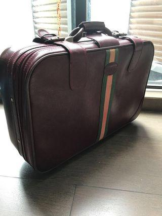 Vintage Luggage Suitcase Retro Rental Travel Vacation Style