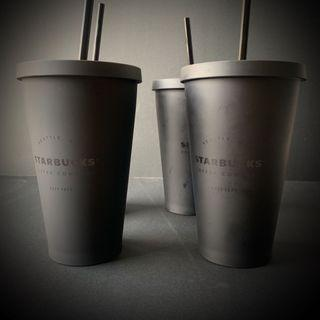 Limited Edition Seattle All Black Starbuck Tumbler size Grande