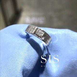 SIS Diamond 父親節禮物 男戒 對戒 18K 鑽石