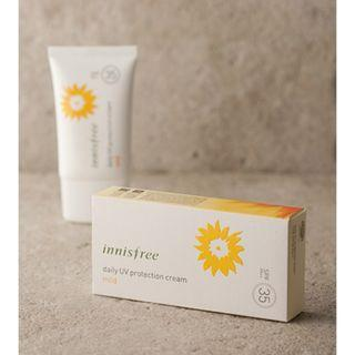 INNISFREE DAILY UV PROTECTION CREAM MILD SPF35 PA++ 50ML