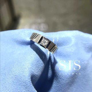 SIS Diamond 男戒 父親節禮物 18K 鑽石 對戒