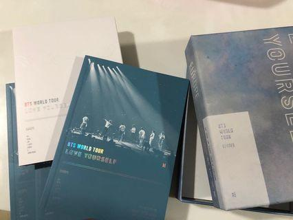 [WTS/LOOSE]BTS LOVE YOURSELF DVD IN EUROPE OUTBOX / DIGIPAK / PHOTOBOOK /CD
