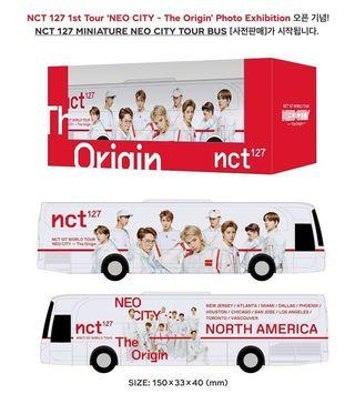 WTS NCT 127 Miniature Bus