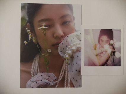 Blackpink JENNIE [SOLO] Photobook Photocard and Postcard
