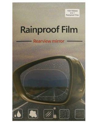 汽車後視鏡玻璃防霧貼片 Car Rainproof film  (L size)