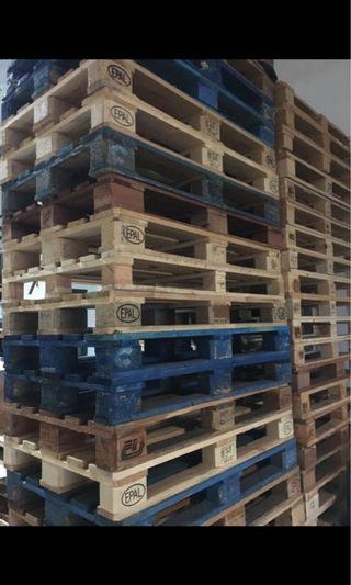 🚚 Euro Size Wooden Pallets