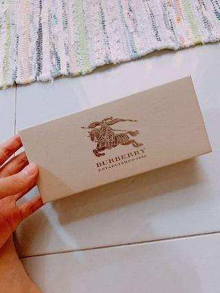 Burberry sunglasses box