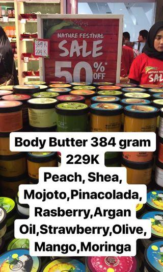 THE BODY SHOP BODY BUTTER 400 GRAM