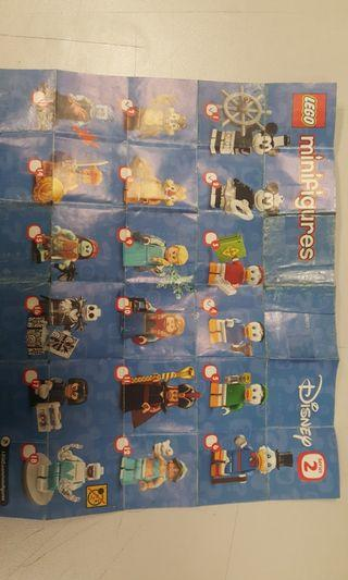 Lego 71024 Lego Disney Sories 2 Lego 一套(18隻)