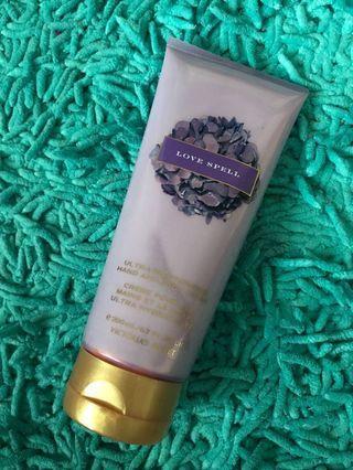 REDUCED PRICE ‼️VS Authentic Love Spell Hand & Body Cream