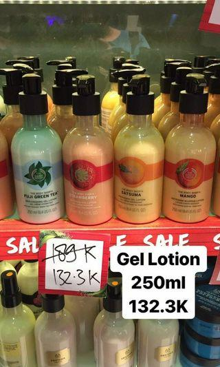 The Body Shop Gel Lotion